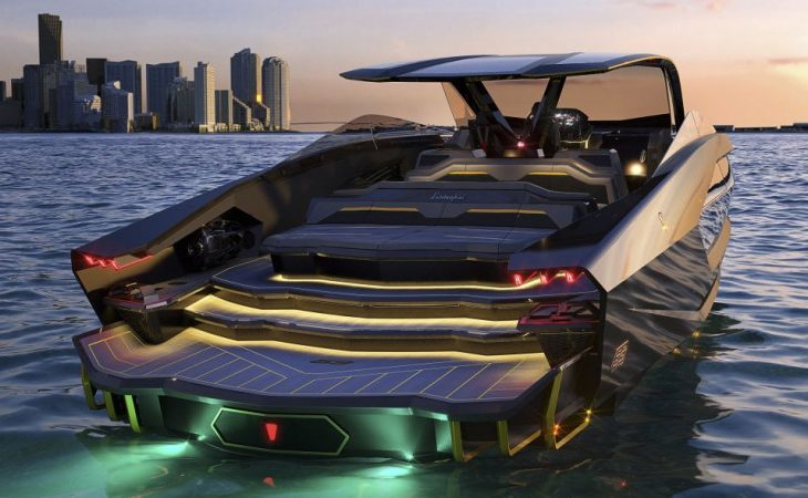 Lamborghini and Tecnomar Create Yacht Inspired by Sian Hypercar