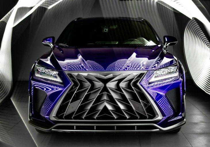 Lexus NX and RX Get an Arresting Visual Update Compliments of SCL Global