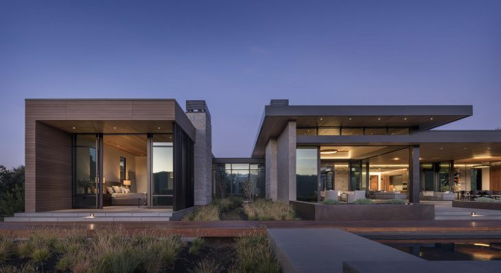 Portola Valley House in California by SB Architects