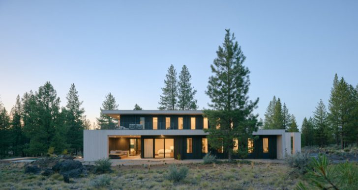 Valentine House in Oregon by Eric Meglasson Architect and Lightfoot A+D