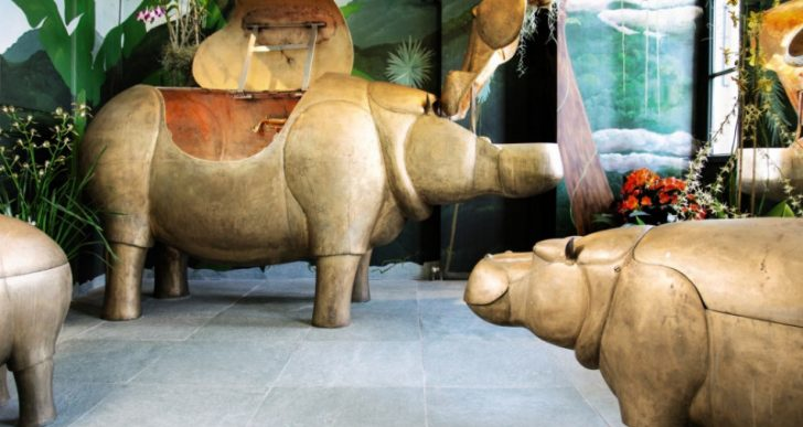 Hippo-themed Bathroom Suite Fetches $2.7M at Auction