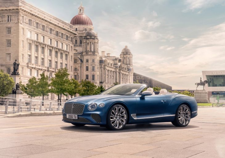 Bentley Continental GT Convertible Mulliner: Spirit of Summer