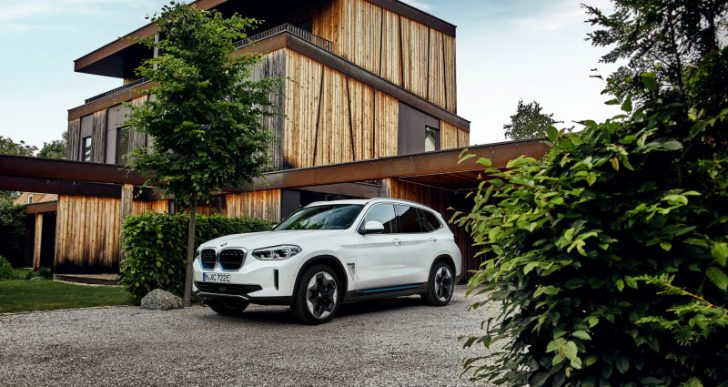 BMW Launches Its First Electric SUV with 2021 iX3