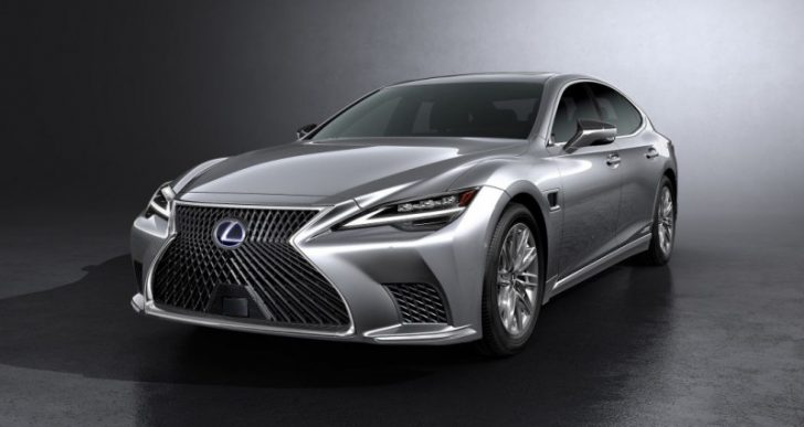 Lexus' Flagship LS Updated for 2021