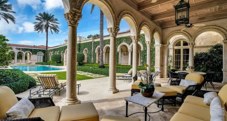 Security-Systems Entrepreneur Chris Watkins Lists Palatial Compound in Palm Beach for $110M