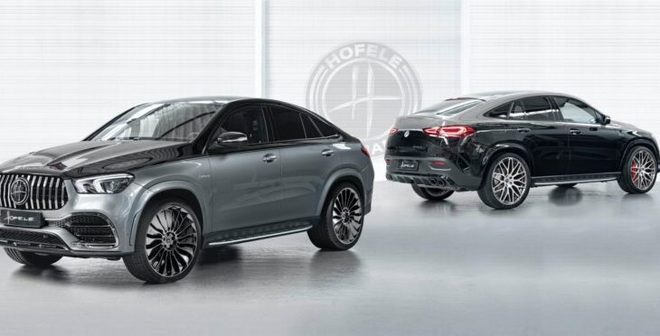 Hofele Applies Maybach-Inspired Two-Tone Paintwork to GLE Coupe