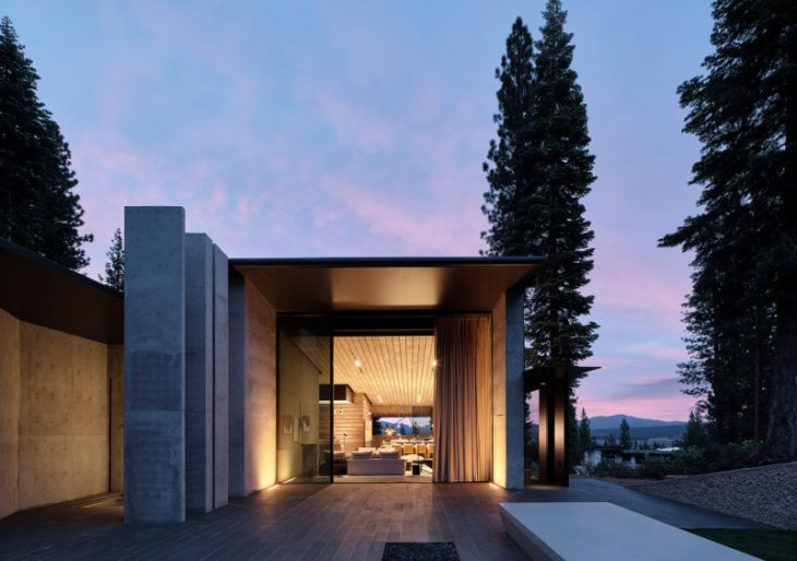 Lookout House in  California by Faulkner Architects
