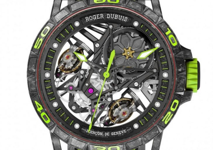 Roger Dubuis Excalibur Essenza SCV12 Follows Hot on the Heels of Lamborghini Supercar
