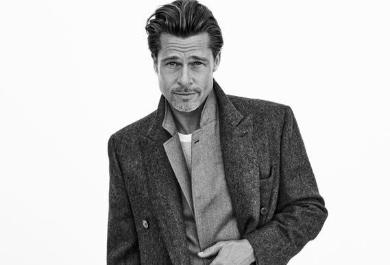 Brad Pitt for Brioni: No-Nonsense Elegance