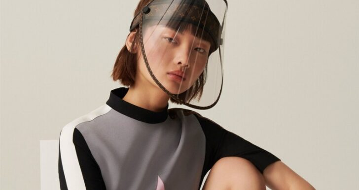 Protect Your Noble Visage in Style With Louis Vuitton's Face Shield