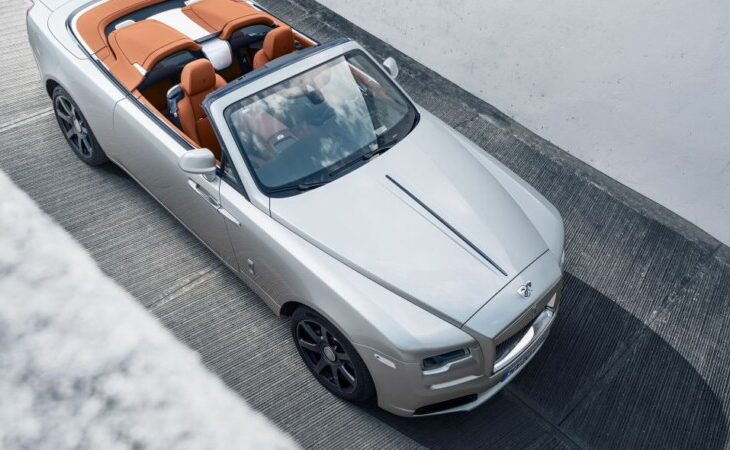 Rolls-Royce Turns Dawn Into Two-Seat 'Silver Bullet'