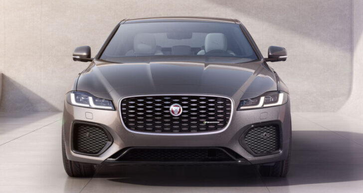2021 Jaguar XF Takes Over Sedan Lineup After Refresh