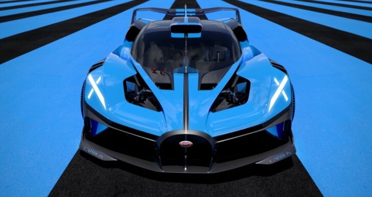 Bugatti Shows Off Its Most Extreme Vision Yet With Bolide Concept