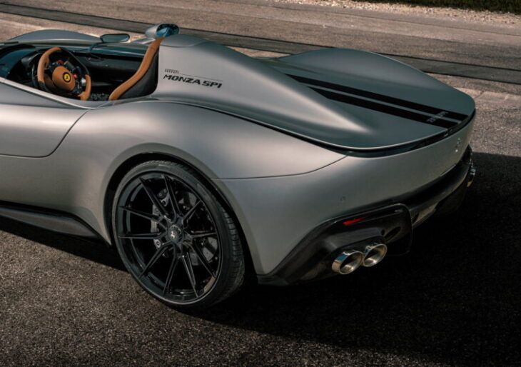 Ever the Stunner, Ferrari Monza SP1 Gets a Power Boost From Novitec