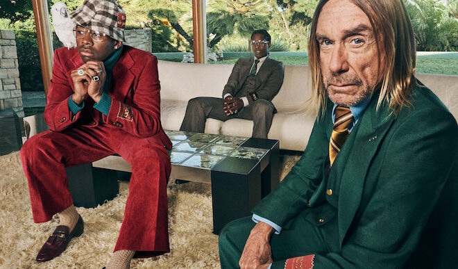 Gucci's Latest Campaign Features Iggy Pop, A$AP Rocky, and Tyler the Creator