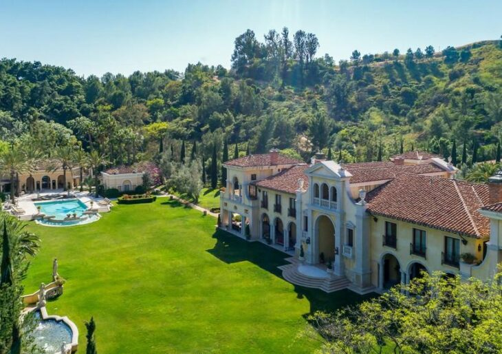 Initially Listed for $165M, Billionaire Steven Udvar-Hazy's 90210 Compound Fetches $51M