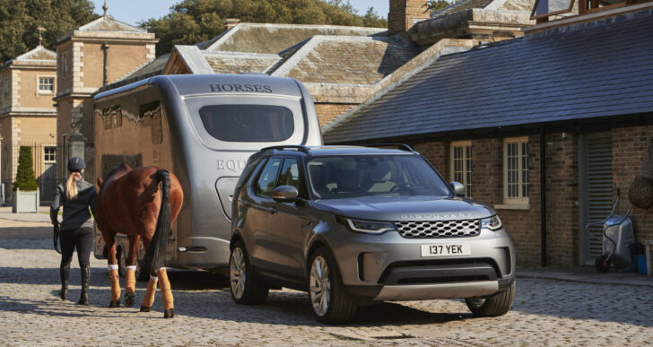 Land Rover Discovery Updated for 2021