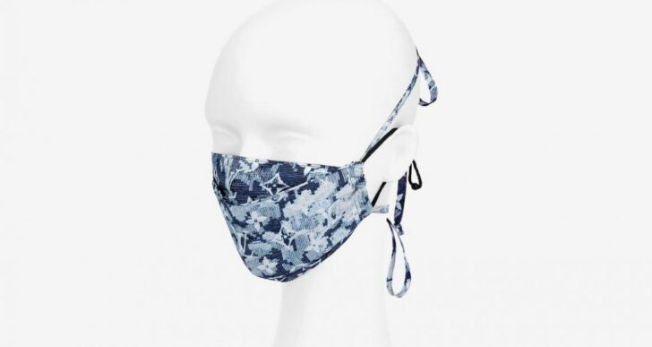 Louis Vuitton Releases Face Mask With Matching Bandana