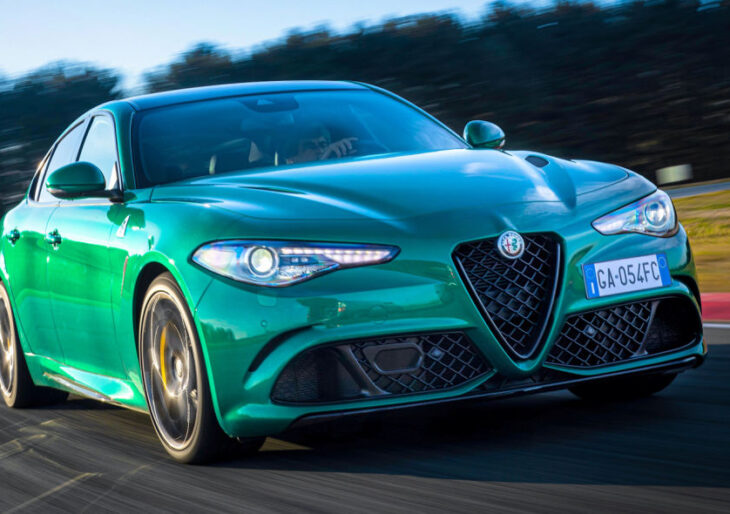 Alfa Romeo Giulia and Stelvio Updated for 2021