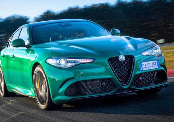 Alfa Romeo Giulia and Stelvio Updated for 2021