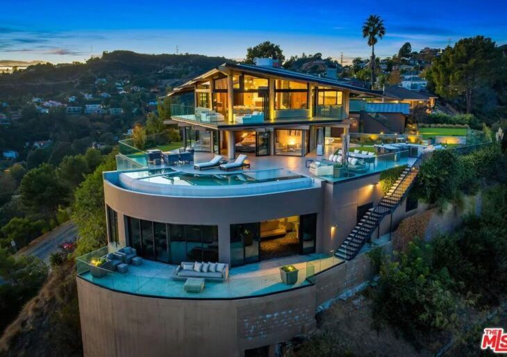 Gesner's Flying House in Hollywood Hills on the Market for $8M
