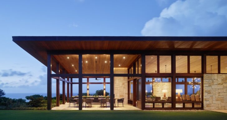 Kalihiwai Pavilion in Hawaii by Walker Warner Architects