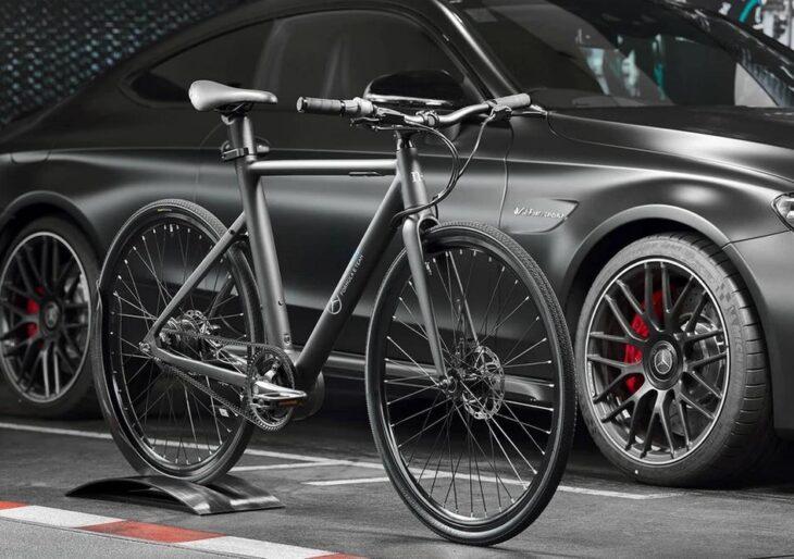 Mercedes-Benz and N+ Unveil 'EQ Formula E Team' E-Bike