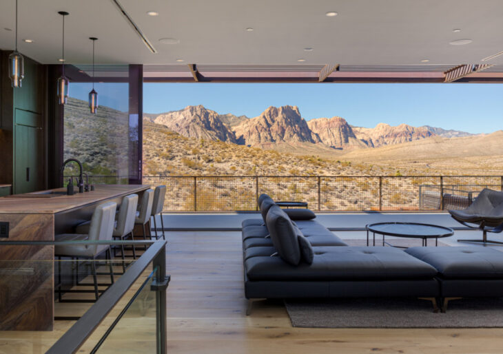 min/MAX House in Nevada by Punch Architecture