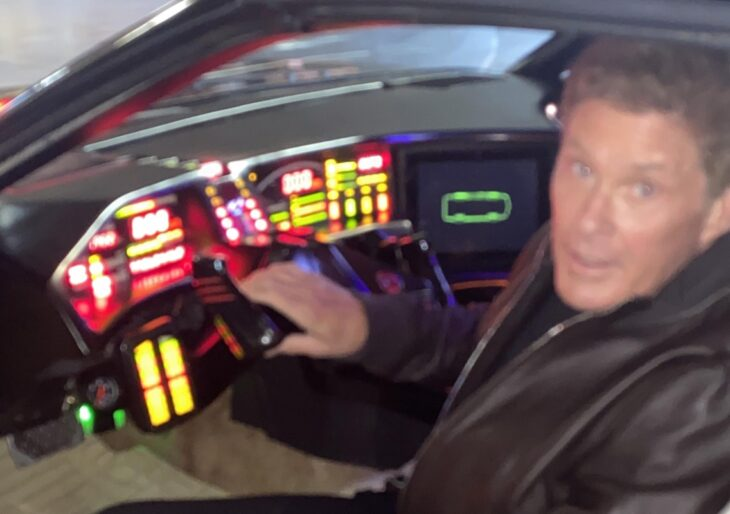 David Hasselhoff's 'Knight Rider' K.I.T.T. Car for Sale at Auction