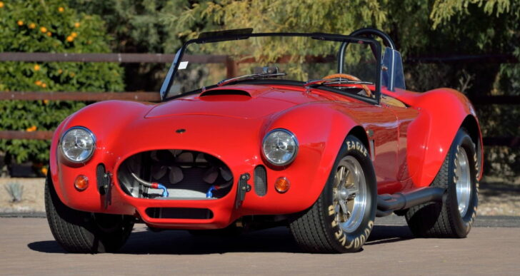 Paul Walker's 1965 Shelby 427 Cobra FAM to Be Auctioned