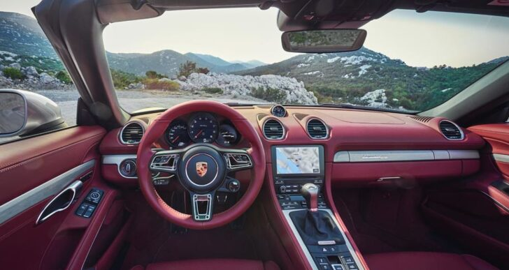 Porsche Boxster Turns 25, Celebrates With $100K Special Edition