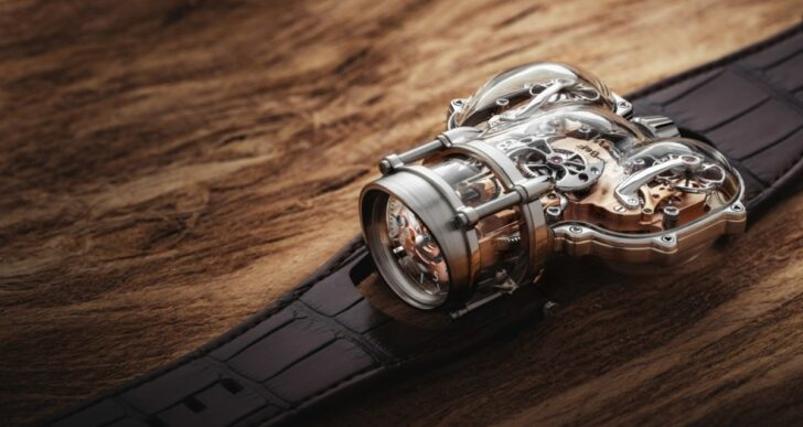 MB&F's $440K HM9 'Sapphire Vision' Offers a Streamline View of the Mechanics