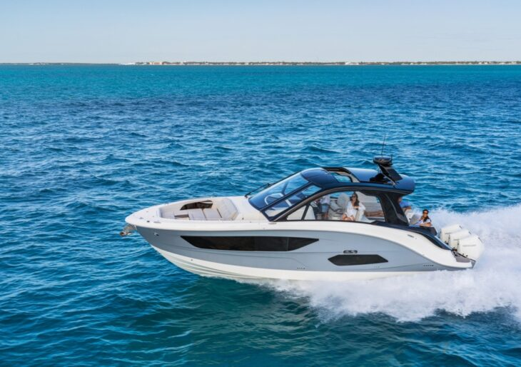 Sea Ray Taps BMW Designworks for Sundancer 370 Outboard Cruiser