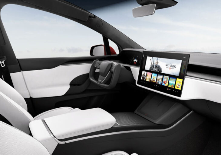 Tesla Model X Updated With New Interior; 1020 Plaid Horses on Tap