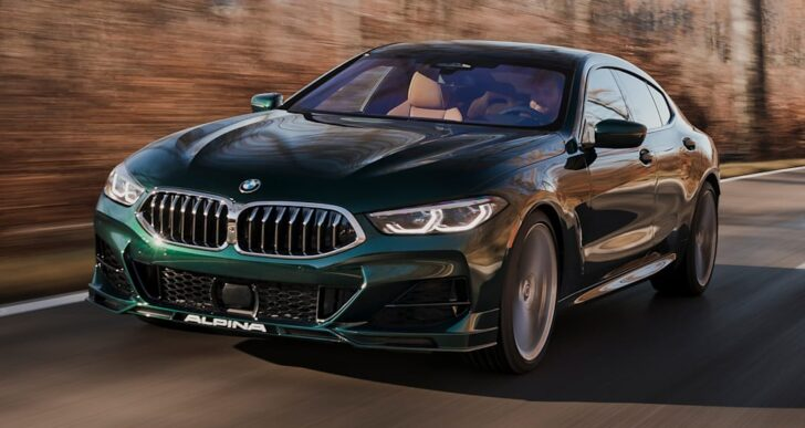 2022 BMW Alpina B8 Gran Coupe Is a $141K M8 Alternative