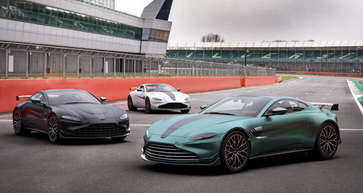 Aston Martin Reveals Vantage F1 Edition; Price Starts at $162K