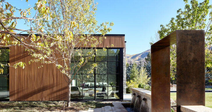 Bagua Residence in Aspen by Rowland+Broughton Architecture