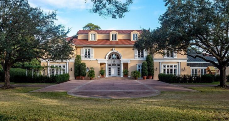 Billionaire Gerald Hines' Houston Mansion on the Market for $34.5M
