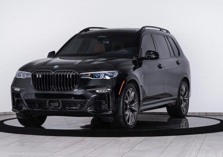 BMW X7 Gains Ballistic Protection Compliments of Inkas