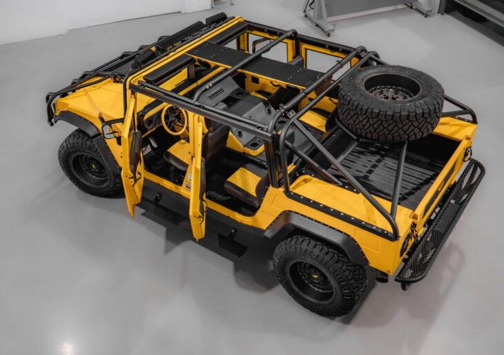 Mil-Spec Shows Off $412K Custom Hummer H1 Build