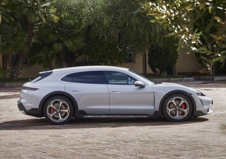 Porsche's Much-Anticipated Taycan Cross Turismo Finally Revealed