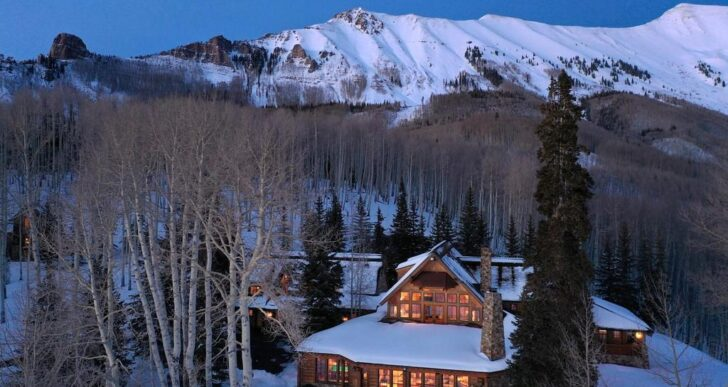 Tom Cruise Gets His Price for $39.5M Colorado Getaway