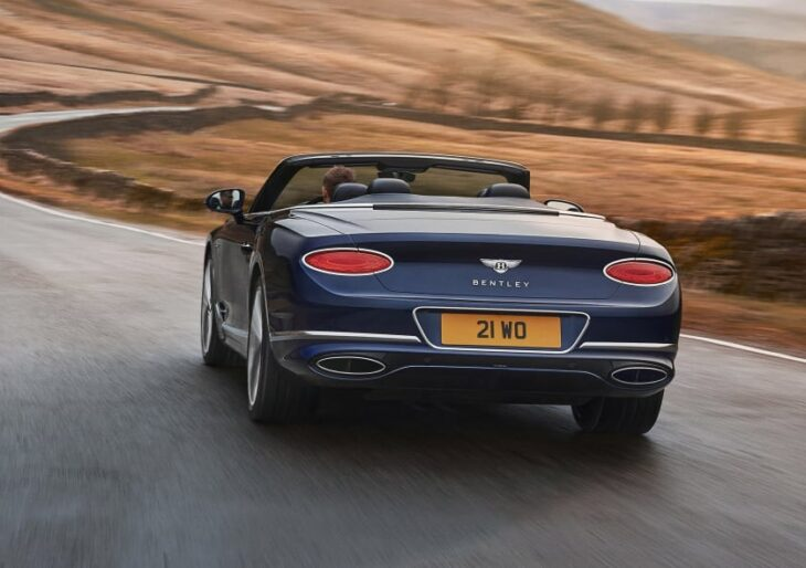 2022 Bentley Continental GT Speed Convertible Revealed; Price Starts at $302K
