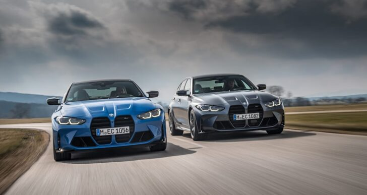 2022 BMW M3 and M4 Competition Add xDrive for Quicker Sprint to 60