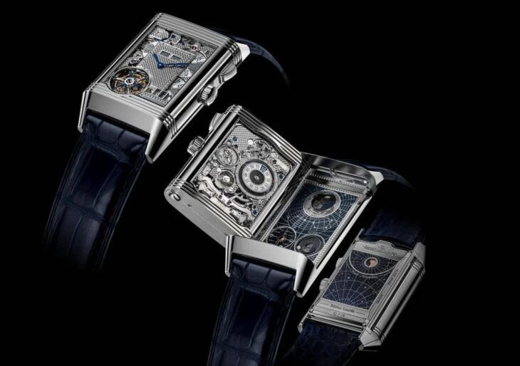 Jaeger-LeCoultre Shows Off Its Latest Marvel With $1.35M Reverso Hybris Mechanica Calibre 185 Quadriptyque