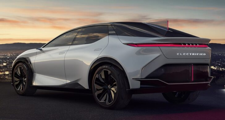 Lexus LF-Z Electrified Hints at Automaker's EV Destiny