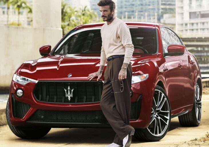 David Beckham Takes Maserati Levante for a Spin As He Becomes Brand's Newest Ambassador