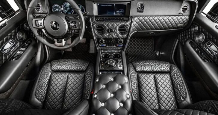 Drake's Rolls-Royce Cullinan Gets a Gothic-Style Makeover