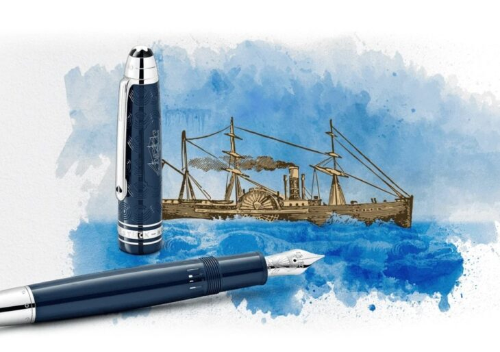 Montblanc Meisterstück 'Around The World in 80 Days' Collection Honors Jules Verne