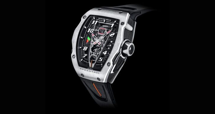 Richard Mille Introduces $1M Watch to Go With $2.3M McLaren Speedtail